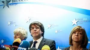 Seeking Npr Separatist Catalan Leaders Now In Brussels Deny Seeking Asylum