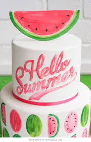 Watermelon Cake Decorating Ideas 445 Best Everything Sweet Images On Pinterest Watermelon Cake