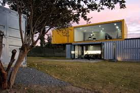 Prefab Guest House With Bathroom by 4 Shipping Containers Prefab Plus 1 For Guests