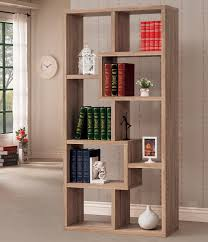 bookshelf astonishing geometric bookcase charming geometric