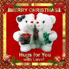 christmas hugs for you pretty glittery graphics pinterest