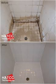 ugly looking shower looks new again after cleaning and removing