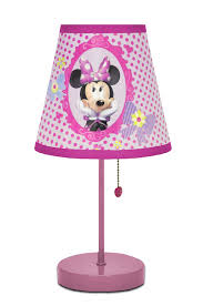 amazon com disney minnie mouse bow tique table lamp toys games