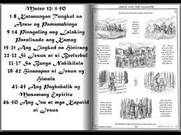 mateo 12 audio bible tagalog filipino version
