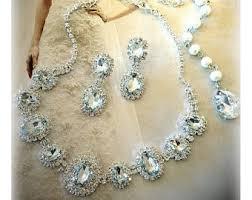 wedding jewelry bridal jewelry etsy