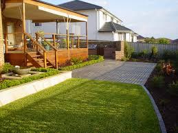 enchanting backyard simple landscaping ideas gallery best image