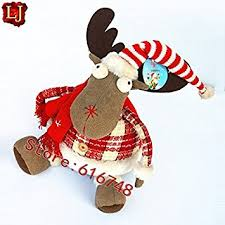 New Decoration For Christmas 2015 by Buy 2015 Reindeer Decoration For Christmas Table New Years Dolls