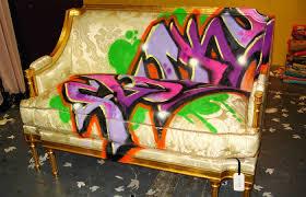 using graffiti for home decor