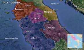 Italy Wine Regions Map by Map Italian Wine Regions U2014 Tenzing