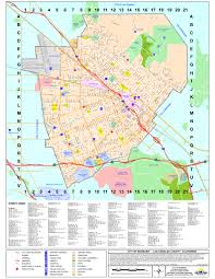 San Diego County Zoning Map by Map Of Burbank California California Map