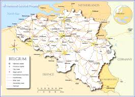 map of countries surrounding germany map of germany and surrounding countries with cities political map