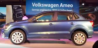 volkswagen ameo 2017 2016 volkswagen ameo revealed in india targets sub 4 meter sedan