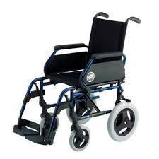 si e de pliable fauteuil roulant de transit chaise roulante légère en acier et
