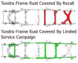 toyota sequoia recall toyota extends warranty on 1st tundra frames