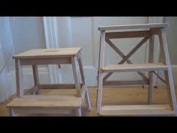 Ikea Stepping Stool Ikea Bekväm Stepladder Vs Step Stool Youtube