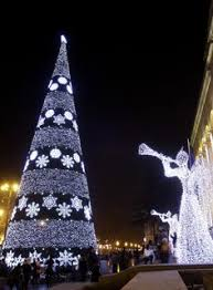 Outdoor Christmas Decorations Montreal by Christmas Lights In Olhao In The Algarve Holidays Around The