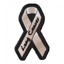 pearl ribbon lung cancer pearl ribbon patch awareness patches