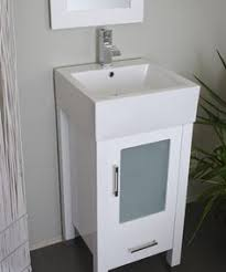 18 Inch Bathroom Vanity by The Naeva Corner Vanity Unit White Gloss With Basin 47 X 47cm Is A