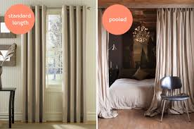 Hanging Curtains High Curtain Length Off Floor Decorate The House With Beautiful Curtains