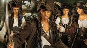 Davy Jones Halloween Costume Pirates Caribbean Costumes Group U0026 Couples Costumes