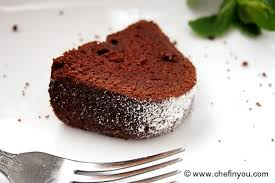 chocolate pound cake with tofu recipe eggless cake recipe chef