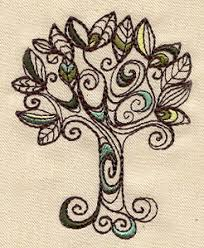 doodle tree threads unique and awesome embroidery designs
