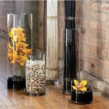 ikea vasi vetro trasparente decorativi tavolo alto a buon mercato vasi di vetro trasparente