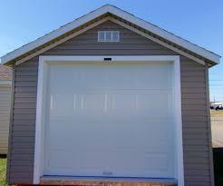 Overhead Shed Door by Prebuilt Stock