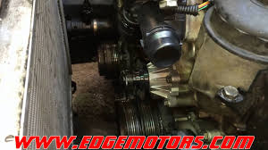2006 bmw 325i thermostat replacement e46 3 series bmw water and thermostat replacement diy by edge
