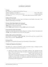 sales representative agreement contract template best resumes