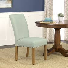 nailhead trim dining chairs homepop michele dining chair with nailhead trim set of 2 homepop