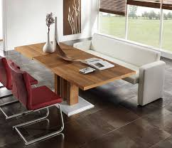 Beautiful Dining Room Table And Bench Ideas Room Design Ideas - Dining room table with sofa seating