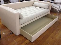 awesome emery sofa twin daybed w trundle west elm intended for bed
