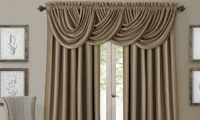 How To Hang A Valance Scarf by Tips On Buying Curtain Rods Overstock Com