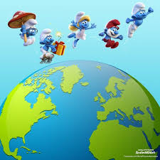 270 smurfs images animation gifs sony