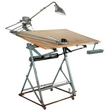 Drafting Table Light with Isis Drafting Table With Original Components Modern Industrial