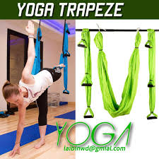 2018 retail aerial yoga hammock pilates band yoga inversion swing