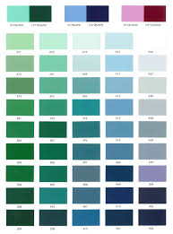 Custom Paint Color Industrial Paint Color Cards
