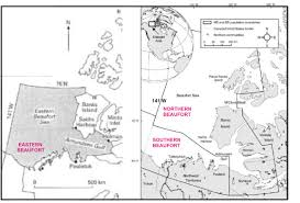 Northern Canada Map by Amundsen Gulf Polarbearscience
