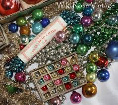 vintage vintage mercury glass ornaments