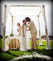 wedding arches rental miami aspen birch bamboo wedding canopy chuppah arch rentals miami south