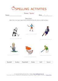 spelling worksheets for kindergarten free worksheets library