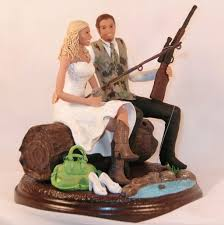 funny fishing wedding cake toppers ideas wedding party decoration