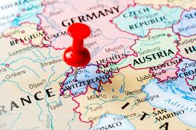 map of countries surrounding germany expats rate switzerland top for best work balance david