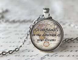 graduation gift jewelry aliexpress buy go confidently in the direction of your dreams