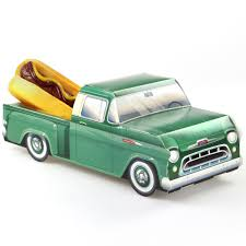 Vintage Ford Truck Gifts - classic cruisers green 57 chevy truck car party favors