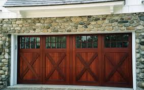 knowing garage door styles to have the best one for you midcityeast luring stone wall design also brown wooden garage door ideas