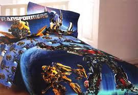 Transformer Bed Set Transformers Convoy Bumblebee Single Bedding