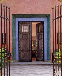 The Art Of Decorating A Front Entrance by Front Door Decor That Stands Out Photos Architectural Digest