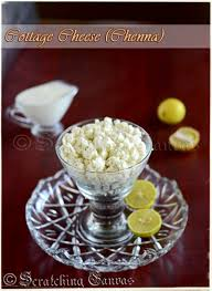 homemade cottage cheese or chenna